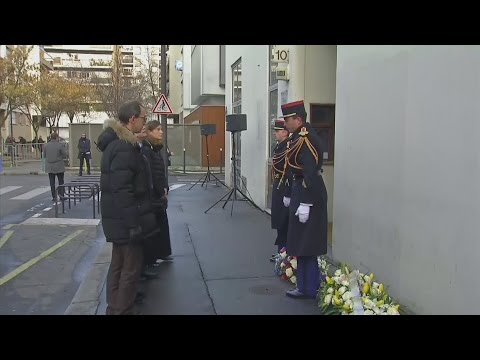Second anniversary of Charlie Hebdo attacks marked in Paris