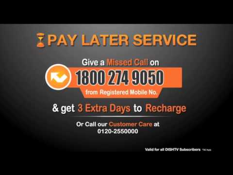 Give Us A Missed Call For Pay Later Services