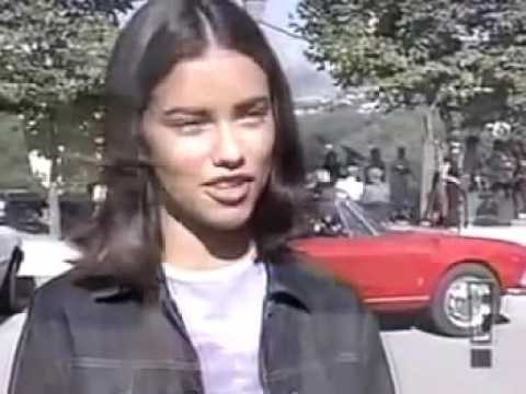 3f7650fbd0 Adriana Lima Age 18   How It All Started w  Victoria s Secret 1999 ...