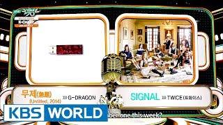 [Music Bank K-Chart] 3rd Week of June - G-Dragon vs TWICE (2017.06.16)