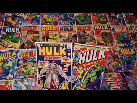My Incredible Hulk Comic Book Collection