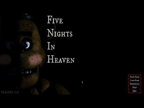 Five Nights In Heaven [Let's Play / Deutsch] #1 - Die Erste Nacht Im Himmel
