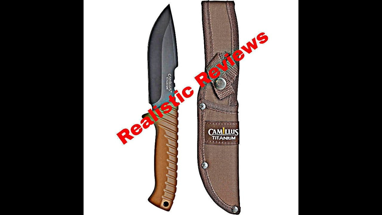 3 Camillus Titanium Knives Review (Insanely Good $10 Knives!!)