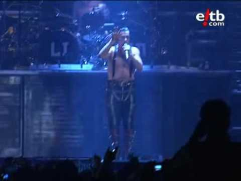 Rammstein - Haifisch - Live 2009 Bilbao Spain 14/11/2009 (Professional recording)