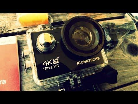iconntechs it action cam 4k kamera pr sentation. Black Bedroom Furniture Sets. Home Design Ideas