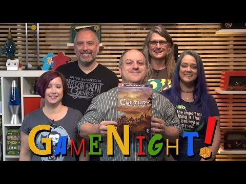 Century: Spice Road - GameNight! Se4 Ep32