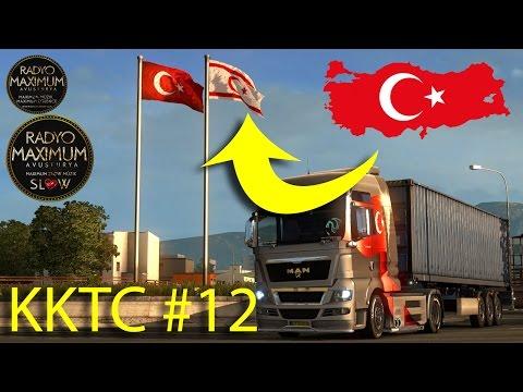 ETS 2 | TR MAP | KKTC GİTTİM #12 (--Türkçe--)