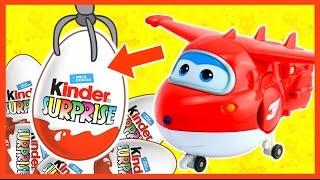 Супер крылья. Игровой автомат. Киндер сюрприз. Super Wings. Kinder Surprise. 슈퍼 날개