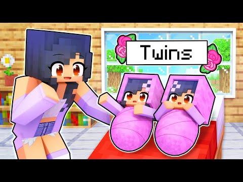 Aphmau Had TWINS In Minecraft!