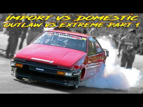 WCF - IMPORT VS DOMESTIC - OUTLAW VS EXTREME PART 1 OF 2