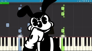 Bendy and the Ink Machine - BORIS Song - Bad Wolf - Piano Tutorial / Cover - Rockit Gaming