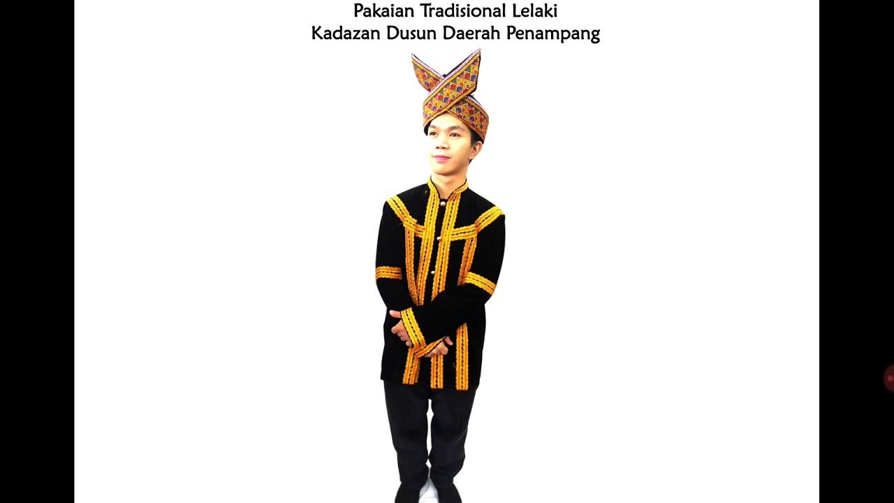 Baju Tradisional Kadazan Dusun Lelaki By Nana Roxy