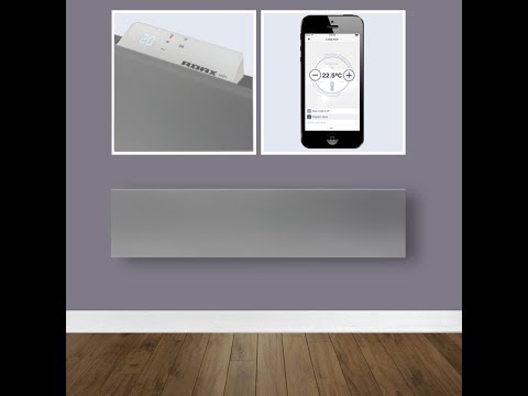 Adax Neo Skirting Home Automation Heaters with WIFI, Timer, Thermostat - Electric Wall Heaters