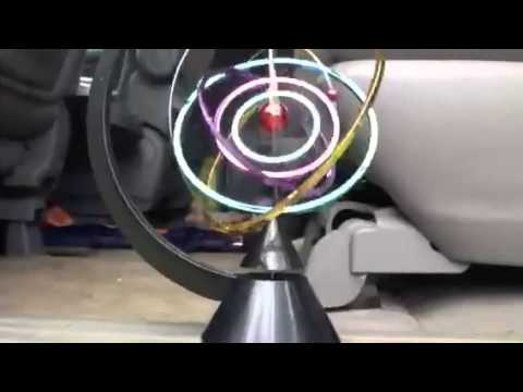 Kinetic Motion Toy Of Space Solar System Youtube