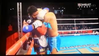 Samy Sana VS Armin Pumpamuang (70kilos) Finale du Choc Des Légendes 2014