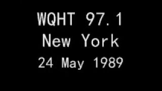 WQHT 97.1 New York - 24 May 1989