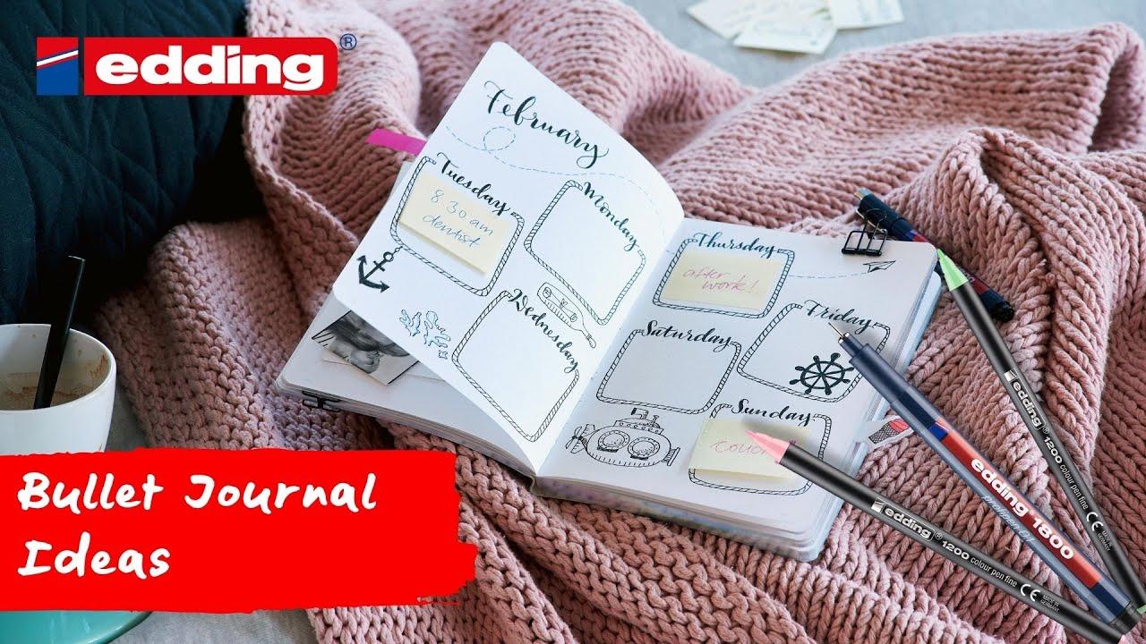 Bullet journal ideas   Ideas   edding