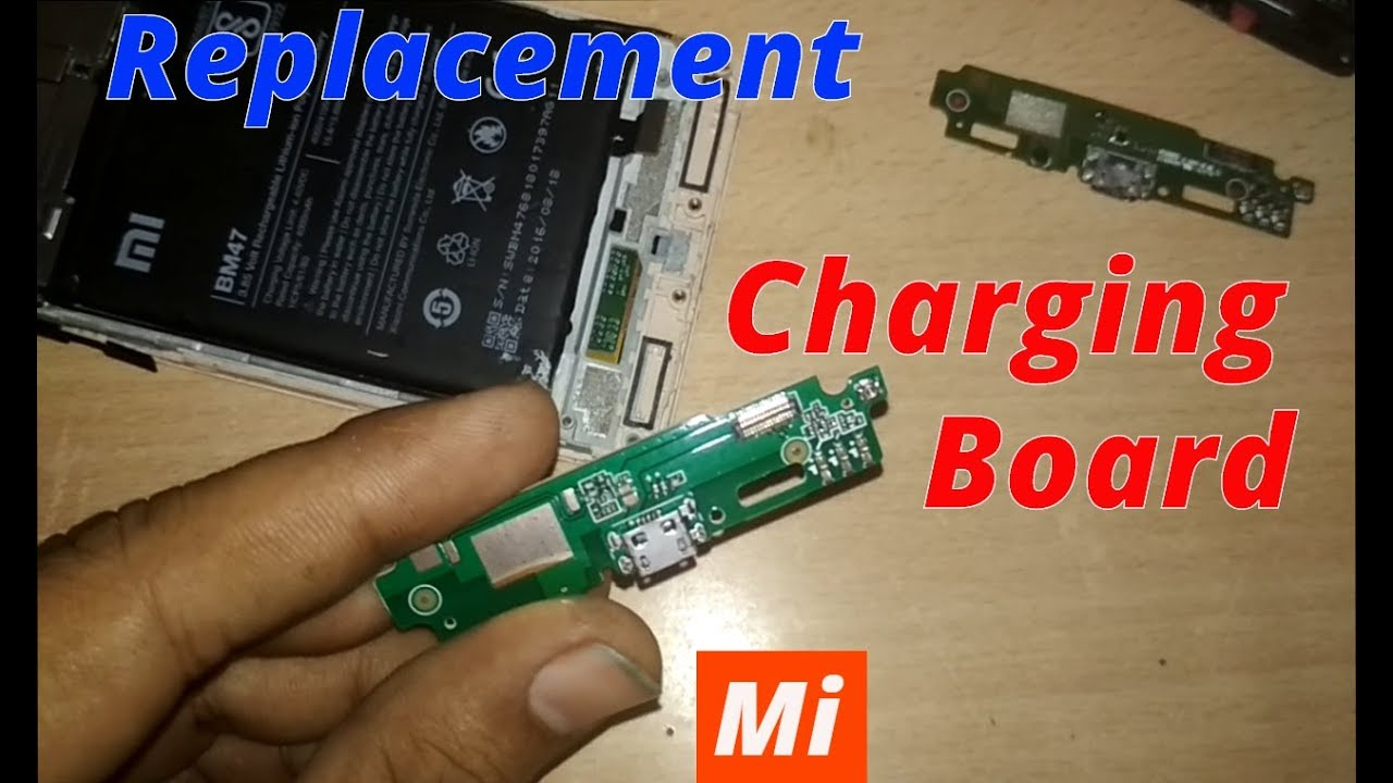 xiaomi 3s prime charging problem - Charging Board Replacement- 100% FIX  [2018]