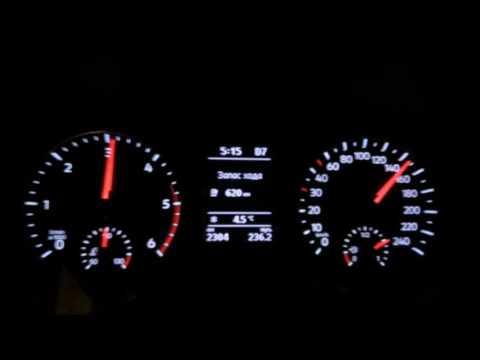 Фольксваген Амарок максимальная скорость