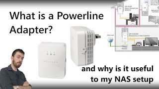 What is a Powerline Adapter? And why is it useful to my NAS setup?