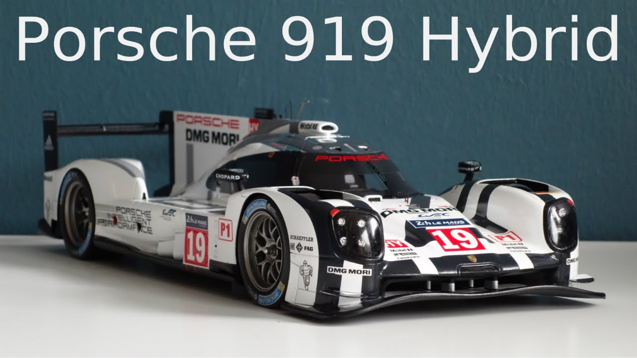 porsche 919 hybrid 19 winner 24h le mans 2015 1 18 spark youtube. Black Bedroom Furniture Sets. Home Design Ideas