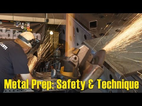 🔥 Metal Prep - Safety & Technique | MIG Monday