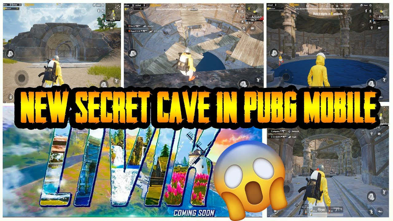 SECRET CAVE IN PUBG MOBILE   0.01% KNOW ABOUT THIS CAVE   BEST LOOT LOCATION IN  PUBG MOBILE