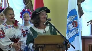 Официальный прием делегаций и гостей праздника  города