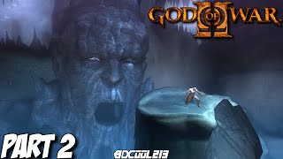 GOD OF WAR 2 GAMEPLAY WALKTHROUGH PART 2 TYPHON'S CAVERN - PS3 LET'S PLAY