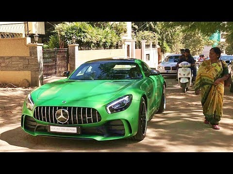 SUPERCARS IN INDIA - February 2018 (Bangalore) - AMG GTR, 720S & more.