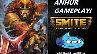 "SMITE: Anhur ""GODLIKE"" Gameplay and Powerhouse Damage Build!"