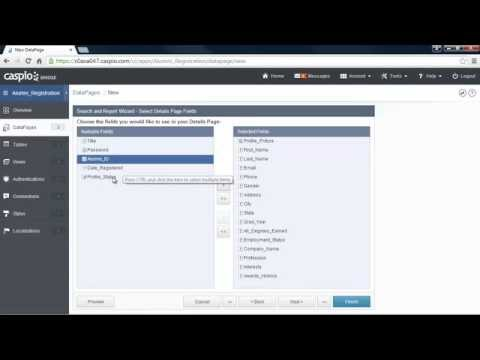 Learn How To Build a Web Application Without Coding Part 7 - YouTube