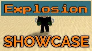 EXPLOSION SHOWCASE! | Hero Academy Online | ROBLOX