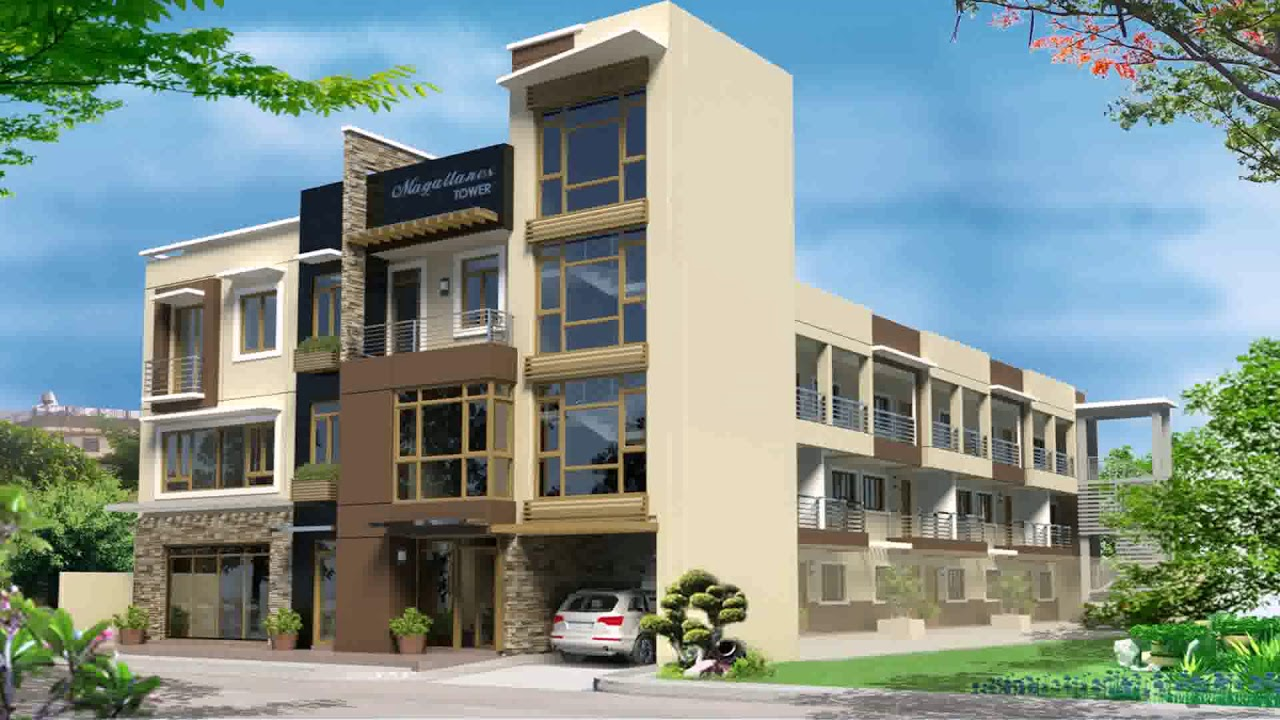 Three Storey Commercial Building Design Philippines Youtube