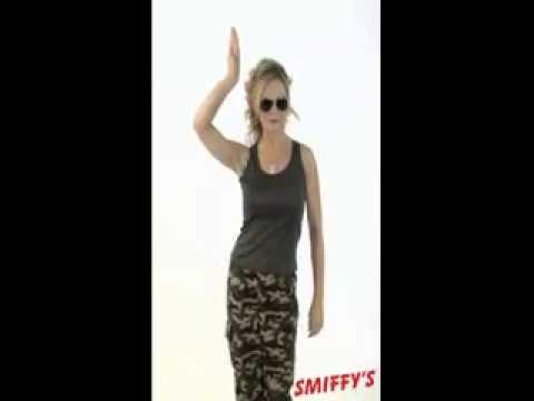 Khaki Camo Women's Army Costume By Smiffys