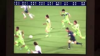 2014/11/15 16:00@ BMWスJ2第41節 湘南ベルマーレvs横浜FC 4-1 後半43分...