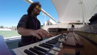 Carey Frank's hammond organ solo over Shut Up and Dance