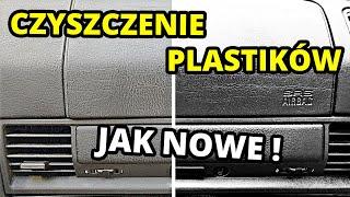 JAK WYCZYŚCIĆ PLASTIKI W SAMOCHODZIE? - Jeden środek wiele możliwości !