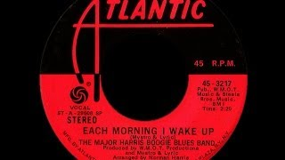 Major Harris Boogie Blues Band ~ Each Morning I Wake Up 1974 Disco Purrfection Version