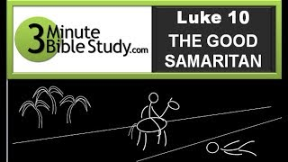 3 Minute Bible Study: Good Samaritan Thumbnail
