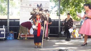 SF INDIAN MARKET 2019  - TRADITIONAL NATIVE AMERICAN CLOTHING CONTEST  - Intro & Young Boys
