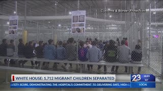 White House: At least 1,700 migrant children separated from parents White House: At least 1700 migrant children separated from parents., From YouTubeVideos