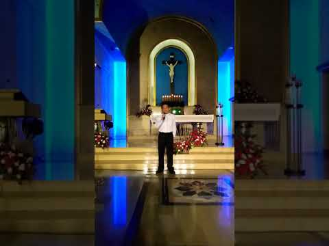 """Fr. Mark's rendition of """"Mama"""""""