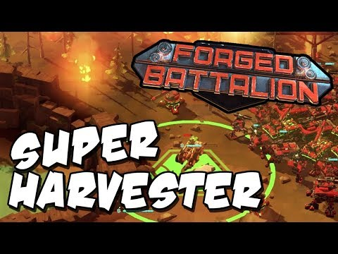 THE CURSE OF THE INVINCIBLE HARVESTER! ► Forged Battalion Multiplayer 2v2 Gameplay