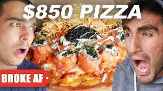 $5 Pizza Vs. $850 Pizza