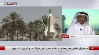 صالح الزهراني: يجب تعليق دور قطر في درع الجزيرة كما علق في التحالف العربي
