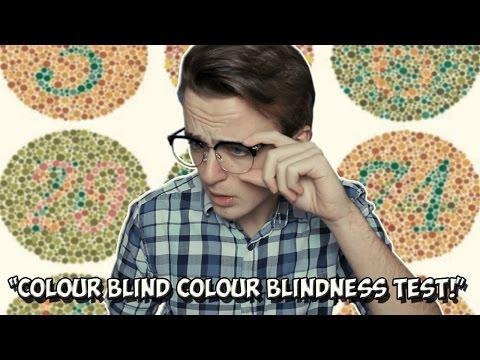 COLOUR BLIND GUY TAKES A COLOUR BLINDNESS TEST   FarFromFilm