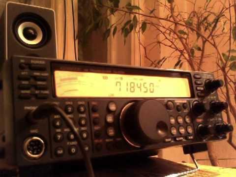 Kenwood TS-570D G CW & SSB listening