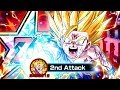 ONE OF THE BIGGEST UPGRADES EVER IN DOKKAN! EZA STR SSJ2 TEEN GOHAN SHOWCASE! DBZ Dokkan Battle