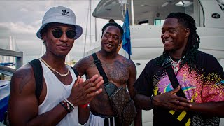 THESE NFL PLAYERS INVITED ME TO THEIR HOUSE! (LITTEST DAY EVER)